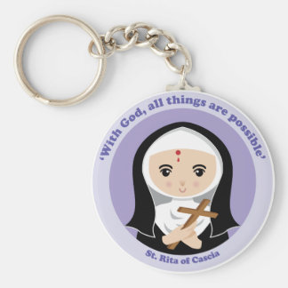 St. Rita of Cascia Keychain