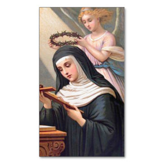 St. Rita of Cascia Magnetic Holy Cards -25/pack