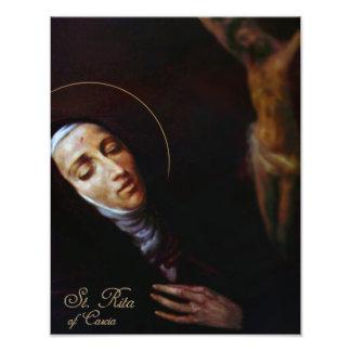 St. Rita of Cascia Photo Print
