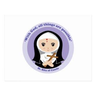 St. Rita of Cascia Postcard