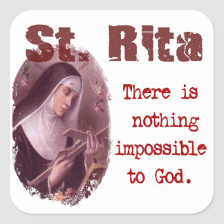 St. Rita Sticker