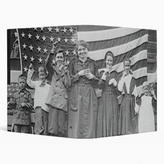 St. Rita's School Students Cincinnati 1918 Binder