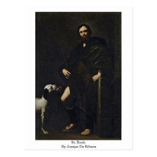 St. Roch By Jusepe De Ribera Postcard
