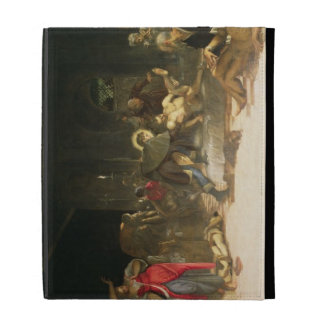 St. Roch Curing the Plague iPad Case