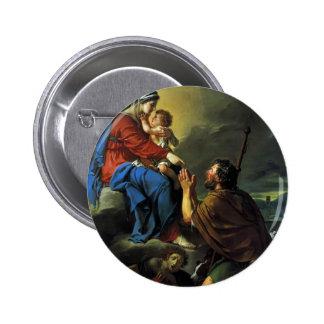 St. Roch de Jacques David que ruega a la Virgen Pins