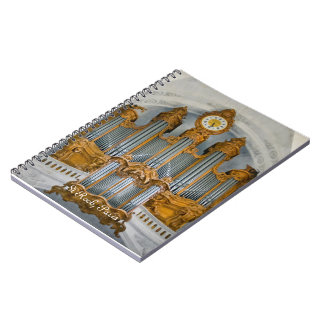 St Roch organ notebook