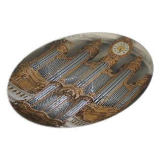 St Roch, Paris, organ plate