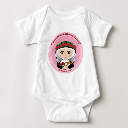 St. Rose of Lima Baby Bodysuit