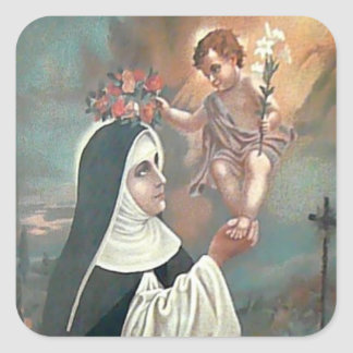 St. Rose of Lima FEAST AUG 23 Square Sticker
