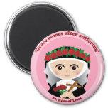 St. Rose of Lima Magnets