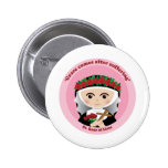St. Rose of Lima Pinback Buttons