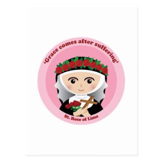 St. Rose of Lima Postcard