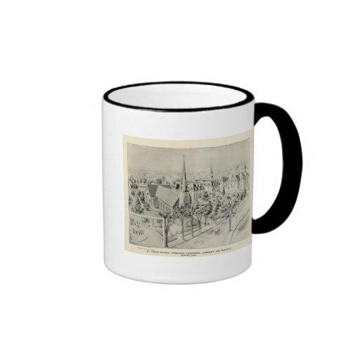 St Rose's Church, Meriden Ringer Coffee Mug