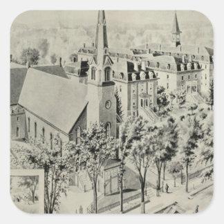 St Rose's Church, Meriden Sticker