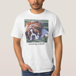 St. Saint Bernard T Shirt