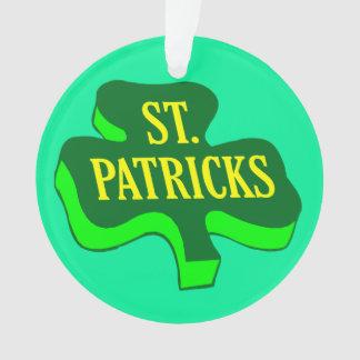 St. Saint Patricks Shamrock Clover