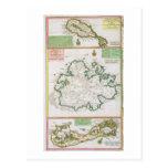 St. San Cristobal, Antigua y Bermudas, detalle de  Tarjetas Postales