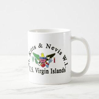St. San Cristobal y Islas Vírgenes de Nevis/los Taza