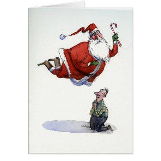 St. Santa Card