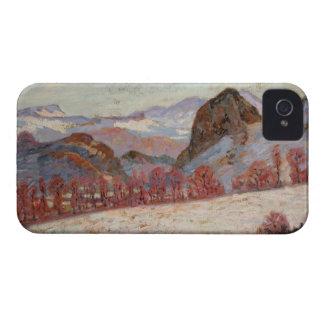 St Sauves d Auvergne c 1900 oil on panel iPhone 4 Case-Mate Case