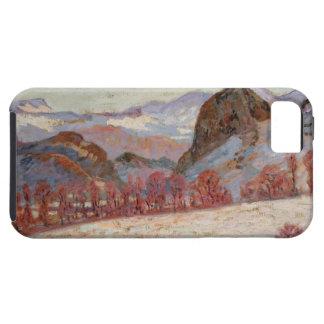 St. Sauves d'Auvergne, c.1900 (oil on panel) iPhone SE/5/5s Case