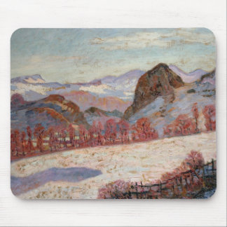 St. Sauves d'Auvergne, c.1900 (oil on panel) Mouse Pad