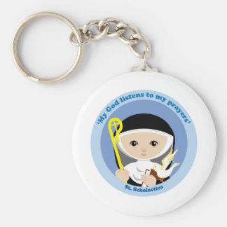 St. Scholastica Keychain