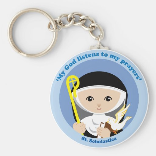 St. Scholastica Keychains