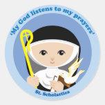 St. Scholastica Sticker