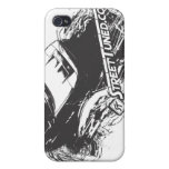 """ST """"Scratched"""" I-Phone case Cover For iPhone 4"""