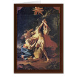 St. Sebastian And The Women By Troger Paul Greeting Card