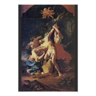 St. Sebastian And The Women By Troger Paul Poster