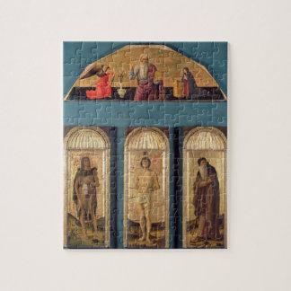 St.Sebastian between St. John the Baptist and St. Jigsaw Puzzle