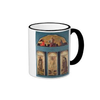 St.Sebastian between St. John the Baptist and St. Ringer Coffee Mug