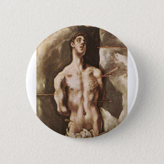 St Sebastian Button