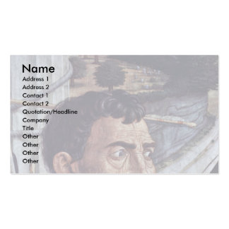 St. Sebastian  By Andrea Mantegna Double-Sided Standard Business Cards (Pack Of 100)