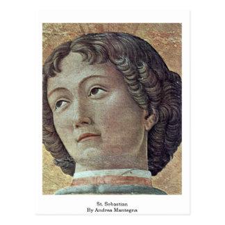 St. Sebastian de Andrea Mantegna Postal