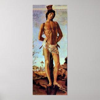 St. Sebastian de Sandro Botticelli Impresiones