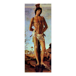 St. Sebastian de Sandro Botticelli Posters