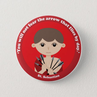 St. Sebastian Pinback Button