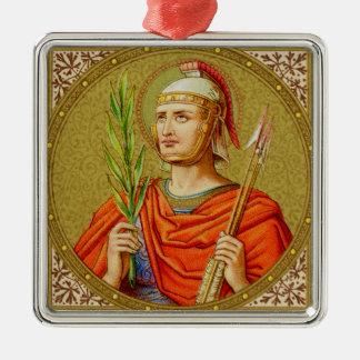 St. Sebastian (SNV 24) Premium Square Metal Ornament