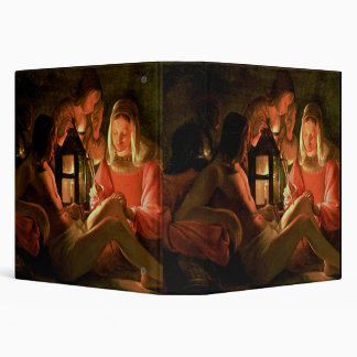 St. Sebastian tended by the Holy Woman (oil on can 3 Ring Binder