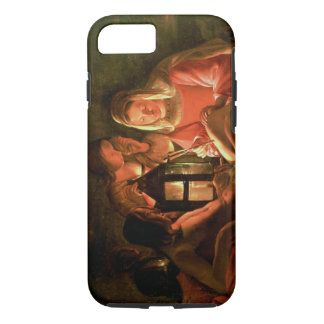 St. Sebastian tended by the Holy Woman (oil on can iPhone 8/7 Case