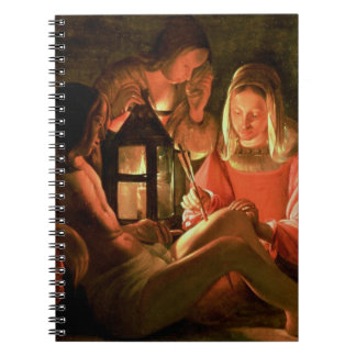 St. Sebastian tended by the Holy Woman (oil on can Notebook