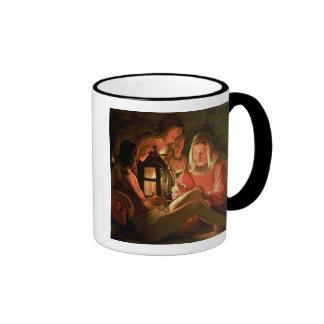 St. Sebastian tended by the Holy Woman (oil on can Ringer Mug