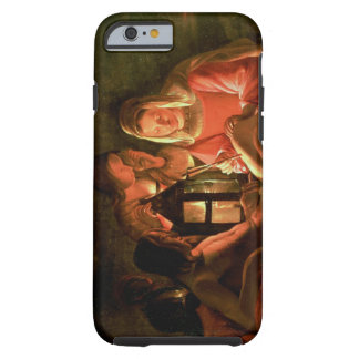 St. Sebastian tended by the Holy Woman (oil on can Tough iPhone 6 Case