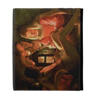 St. Sebastian tendido por la mujer santa (el aceit