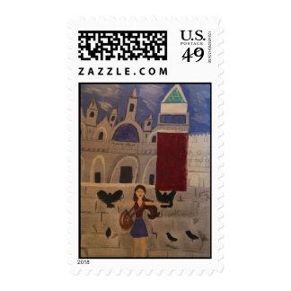 St. Sellos cuadrados de Venecia de las marcas