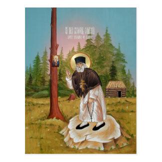 St. Seraphim de la tarjeta del rezo de Sarov Postales