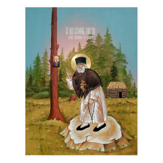 St. Seraphim of Sarov Prayer Card